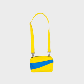 The New Bum Bag S 'TV yellow & blueback' Handtas / Heuptas - Susan Bijl