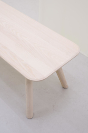 Massief houten eettafel Meyer Ø89 cm Rond - OUT