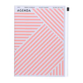 2022 Agenda / Diary A5 Geometric Pink - Mark's Inc.