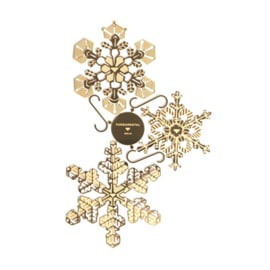 Kerstballen / versiering - Ornaments Snowflakes / Sneeuwvlokken