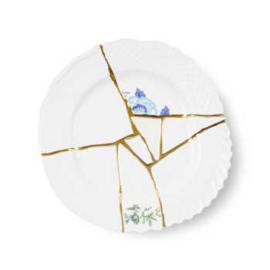 Kintsugi servies - Dinerbord (no.3) 27,5 cm - Seletti