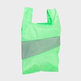 Shoppingbag L 'error & grey' - Susan Bijl