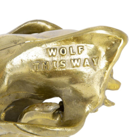 Aluminium Schedel Wolf / Wolf Skull - Seletti Diesel Living