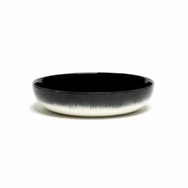 Servies Dé - Diep bord 18,5 cm Off-White/Black var B - Ann Demeulemeester Serax