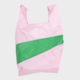 Shoppingbag L 'pale pink & wena' - Susan Bijl