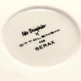Slakom 28,5 cm H 9,5 cm Wit & Rood - Ottolenghi / Serax