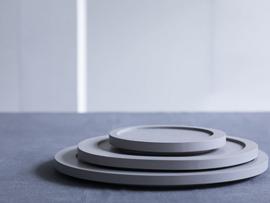 Servies 'Inner Circle' Maarten Baas: Dienblad Medium (33 cm) - Valerie Objects