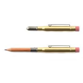Japanse messing potlood / Brass Pencil - Traveler's Company