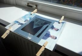 DIY Cyanotype kit - zelf blauwdruk prints of foto's afdrukken