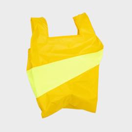Shoppingbag L 'helio & fluo yellow' - Susan Bijl