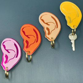 Key Fob / Sleutelhanger Ear - Ark Colour Design