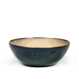 Kom 18,4 cm Misty Grey & Dark Blue - Serax / Anita Le Grelle