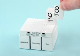 The Cube Calendar 2021 / Scheurkalender - Philip Stroomberg