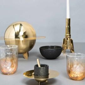 Cosmic Diner - Messing Suikerpot / Lunar Sugar Jar - Seletti Diesel Living