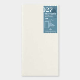Refill 027 watercolor paper voor Traveler's Notebook - Traveler's Company