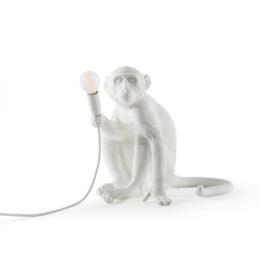 The Monkey Lamp Sitting / Tafellamp - Seletti