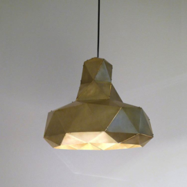 Helix hanglamp (messing) - Marc de Groot