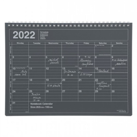 2022 Monthly Desktop Calendar M Black - Mark's Inc.