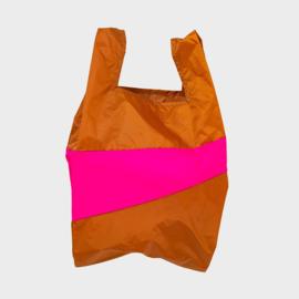Shoppingbag L 'sample & pretty pink' - Susan Bijl