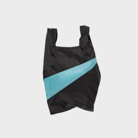 Shoppingbag M 'black & concept' - Susan Bijl