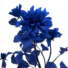 Dalia tak blauw in vaas - Kunstplant - Pols Potten