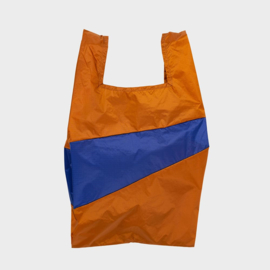 Shoppingbag L 'sample & electric blue' - Susan Bijl