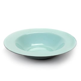 Diep bord brede rand 27,3 cm Light Blue & Smokey Blue - Serax / Anita Le Grelle