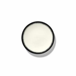 Servies Dé - Schoteltje / bordje 14 cm Off-White/Black var 3 - Ann Demeulemeester Serax