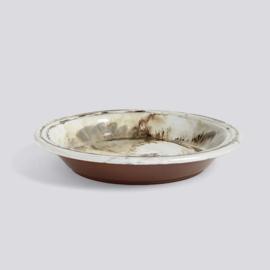 Swirl Bowl / Terracotta schaal - HAY