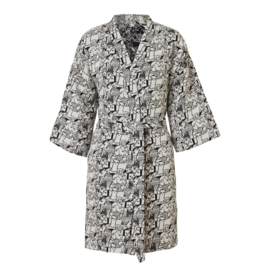 Katoen geweven Badjas / Kimono - Donna Wilson