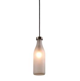 Hanglamp Milk bottle lamp 1 stuk -  Droog