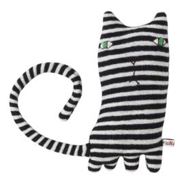 Knuffel kat 'Mono Cat' - Donna Wilson