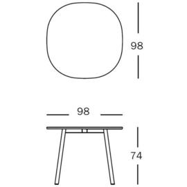 Tafel Déjà-vu (HPL) - Naoto Fukasawa / Magis