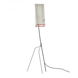 Papieren Tafellampje 'EO' Black/White - Ann Demeulemeester Serax
