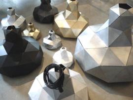 Helix hanglamp (zwart / goud) - Marc de Groot