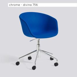 AAC53 - bureaustoel - volledig gestoffeerd