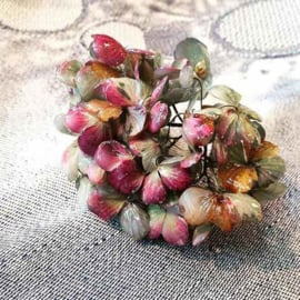 Hortensia vereeuwigd in epoxy / plexiglas - Roos Soetekouw