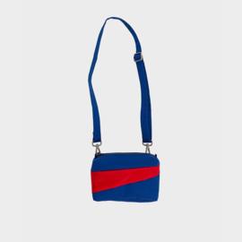 The New Bum Bag S 'electric blue & redlight' Handtas / Heuptas - Susan Bijl