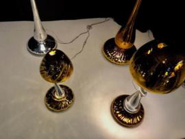 Tafellamp 'Mushroom' Blauw - Arnout Visser