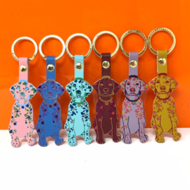 Key Fob / Sleutelhanger Dog - Ark Colour Design