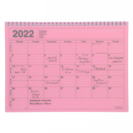 2022 Monthly Desktop Calendar M Pink - Mark's Inc.