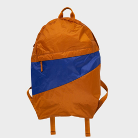 The New Foldable Backpack 'sample & electric blue' - Susan Bijl