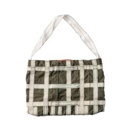 Vintage Parachute schoudertas / light bag - Puebco
