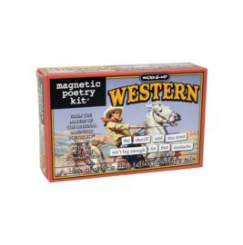 koelkast magneten: Magnetic Poetry western