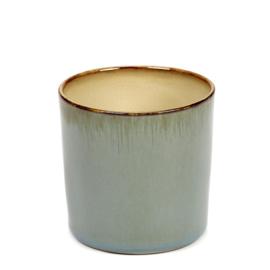 Beker cylinder hoog Smokey Blue & Misty Grey - Serax / Anita Le Grelle