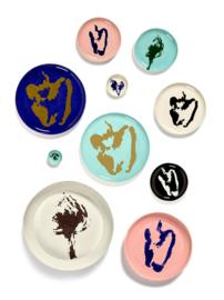 Serveerschaal 35 cm H 4 cm Roze & Blauw - Ottolenghi / Serax