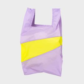 Shoppingbag L 'idea & fluo yellow' - Susan Bijl