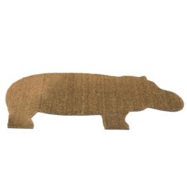 Deurmat 'Hippo mat' - Droog