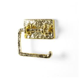 Toiletrolhouder goud 'Maurizio' - Studio Job / Seletti