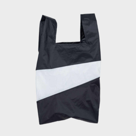 Shoppingbag M 'black & white' - Susan Bijl